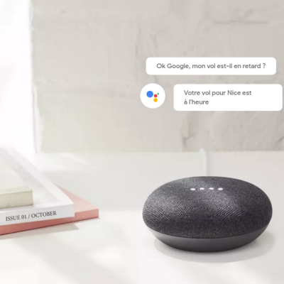 Assistant vocal Google Home...
